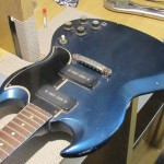 1963 Gibson SG - Bridge Swap Electronics Clean & Setup