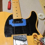 Austin Guitar Repair - Fender Telecaster - Pickup Swap, Body Route, Pick Guard File, Kill Switch Wiring Modification