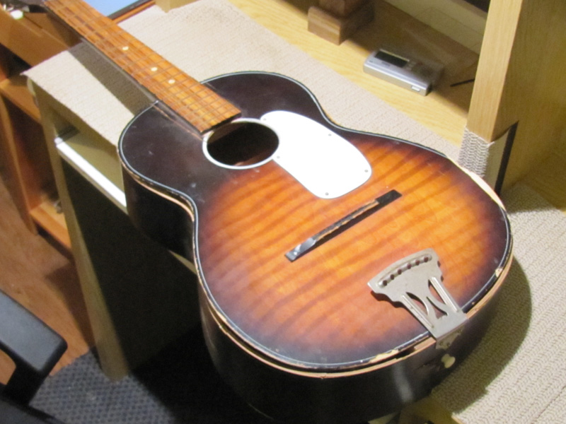 A Real Guitar Ressurection 1960 S Stella Acoustic Repair South