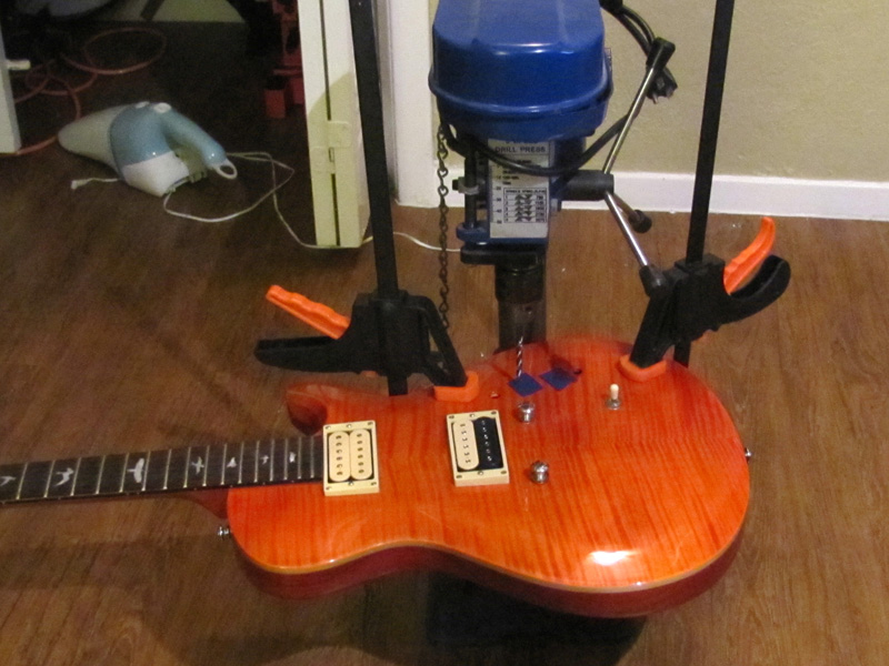 Paul Reed Smith - Pickup installation, Wiring Modification Coil ...