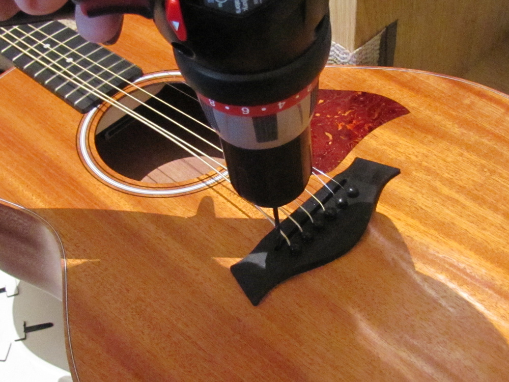 Acoustic Pickup Installation Unlike Other Acoustic Pickups